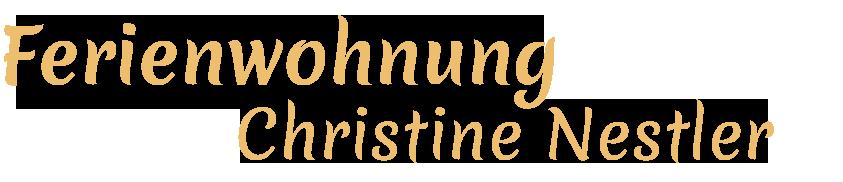 Ferienwohnung Christine Nestler